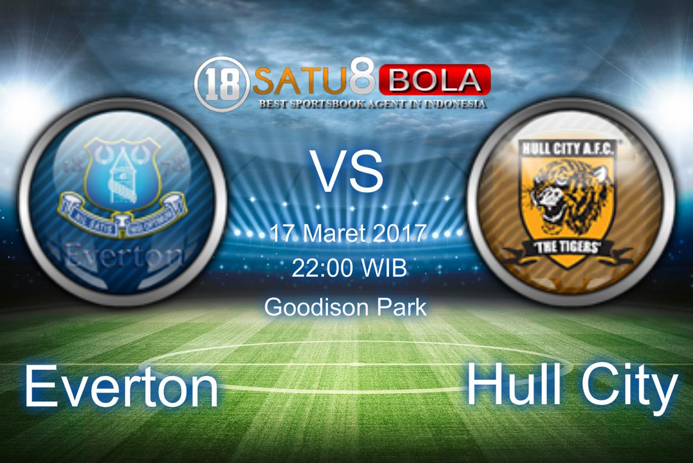 Prediksi Everton vs Hull City 18 Maret 2017