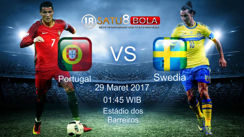 Prediksi Portugal vs Swedia 29 Maret 2017