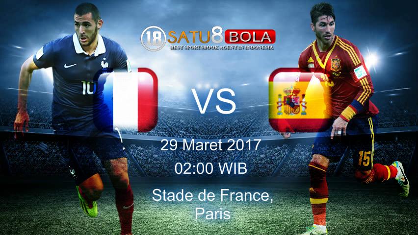 Prediksi Prancis vs Spanyol 29 Maret 2017