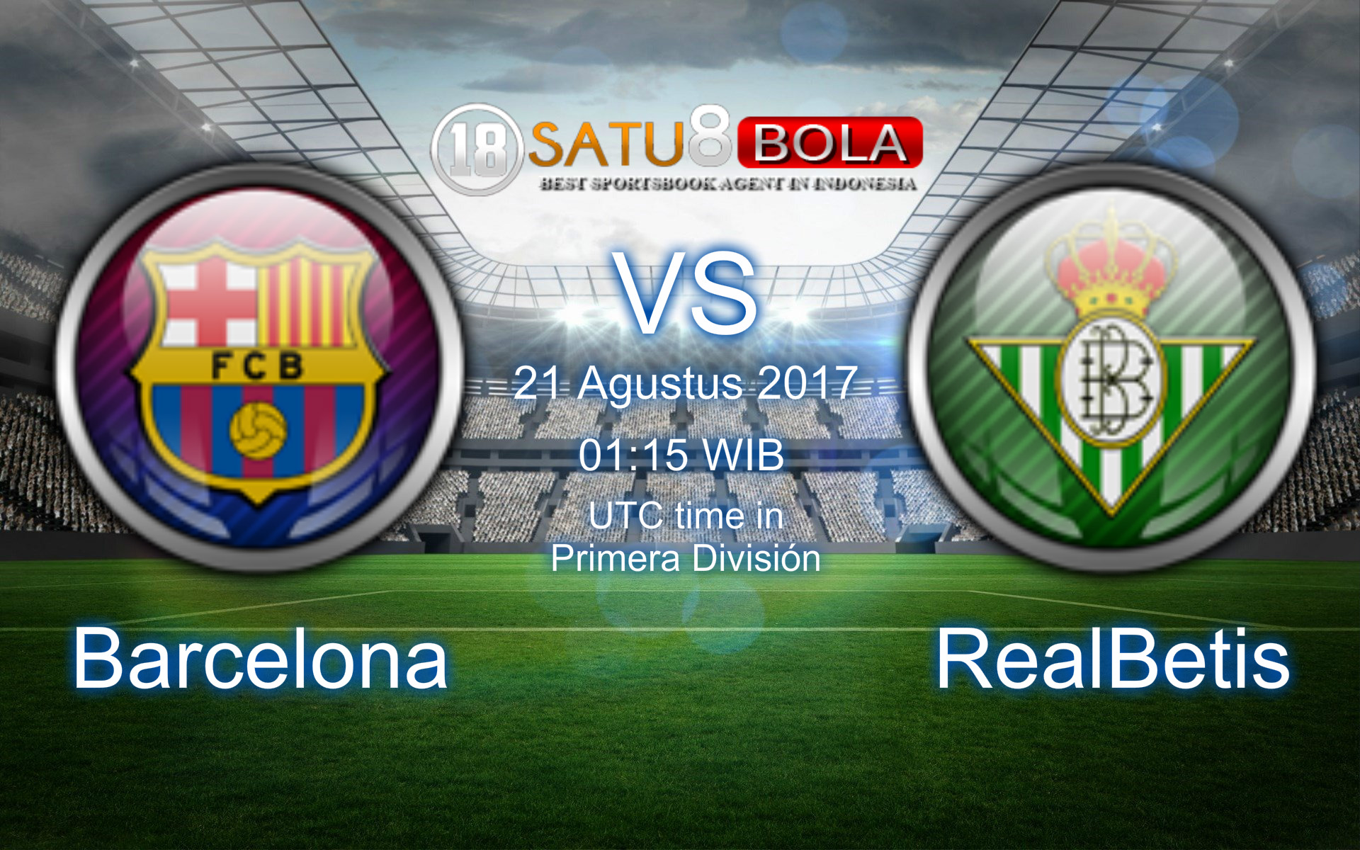 Prediksi Barcelona vs Real Betis 21 Agustus 2017